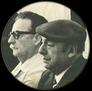 Salvador Allande e Pablo Neruda